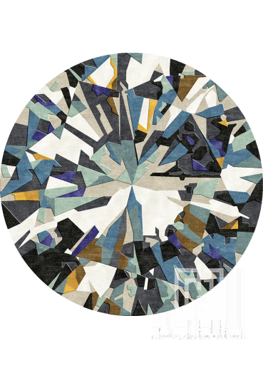 Diamond rug Design 109